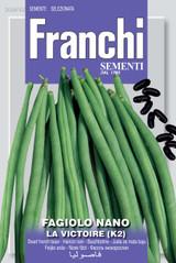 Dwarf French Bean La Victoire (A) Phaseolus vulgaris L.