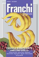Climbing French Bean Anellino Giallo Save 46p (A) Phaseolus vulgaris L.