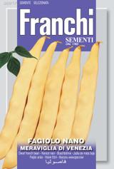 Dwarf French Bean Meraviglia Di Venezia *Endangered Variety* (A) Phaseolus vulgaris L