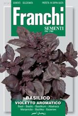 Basil violetto aromatico