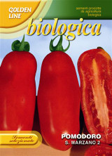 Organic Tomato San Marzano - Endangered Variety* (A) Solanum lycopersicum