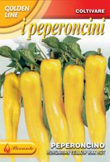 Chilli Pepper Hungarian Hot Wax (A) Capsicum annuum L.