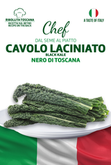 Linea Chef - Italy, Cavolo Nero Kale With Ribollita Toscana Recipe
