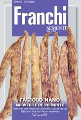 Dwarf French Bean Merveille De Piemonte Save 46p (A) Phaseolus vulgaris