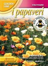Poppy di Campo a Fiore Semplice Mix