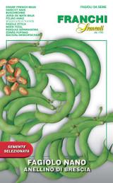 Dwarf French Bean Anellino Of Brescia (A) Phaseolus vulgaris L.