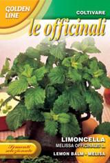 Limoncella - Lemon balm medicinal