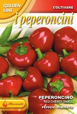 Chilli Pepper Red Cherry Small (A) Capsicum annuum L.