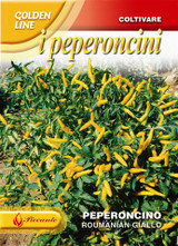 Chilli Pepper Romanian Yellow