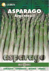 Asparagus - Spargel Argenteuil Leben