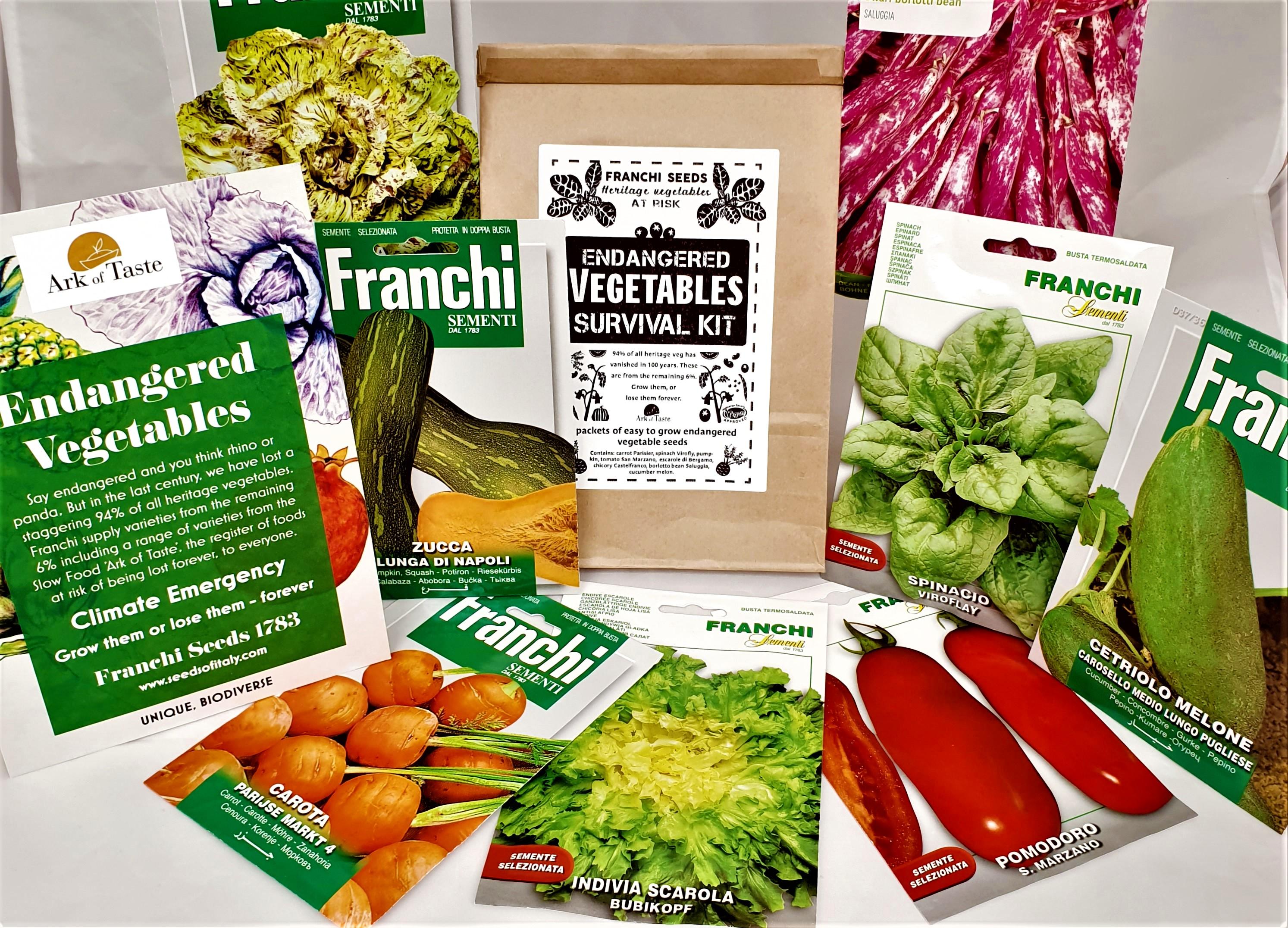 Vegetable Survival Kits