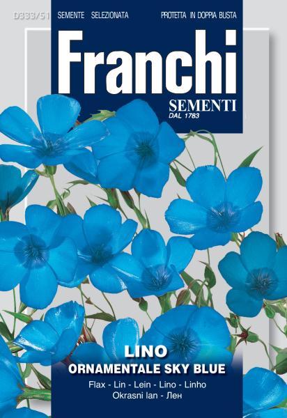 Flax ornamental Sky blue