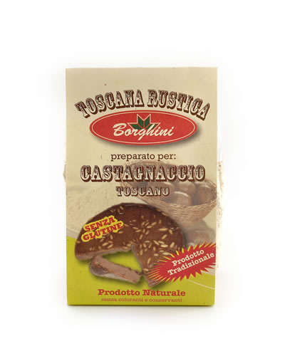 Castagnaccio Cake mix - UK Only. Gluten Free