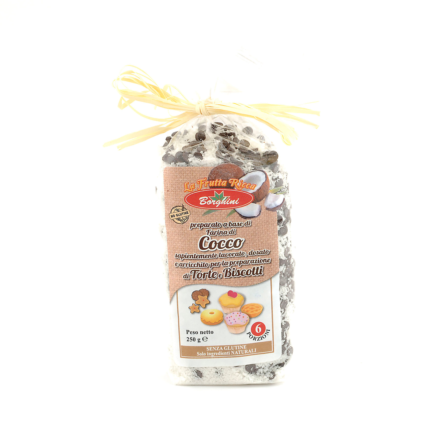 'Cocchini' Coconut Choc Chip Biscuit Mix *Gluten Free* from Borghini