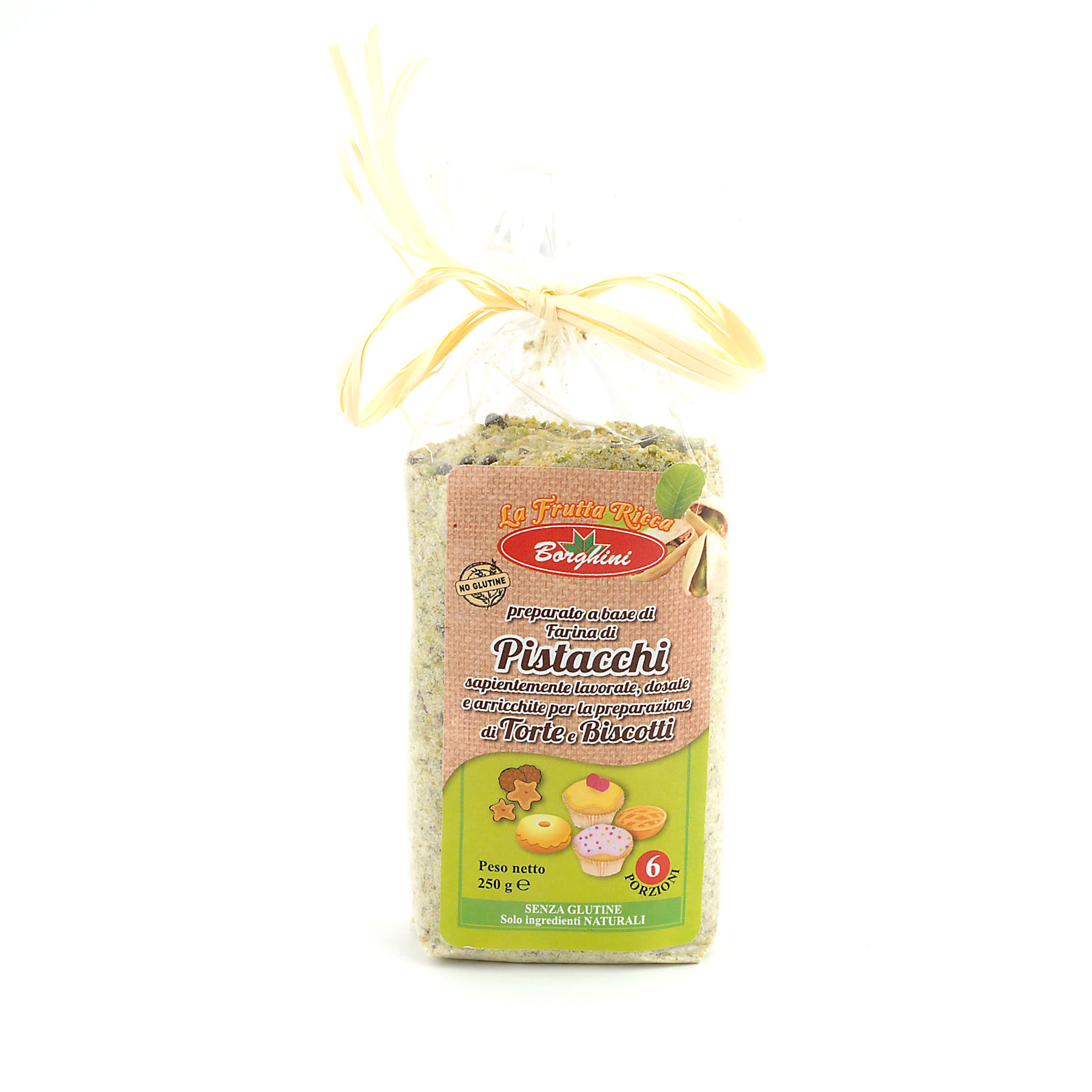 'Pistacchi' Pistacchio Biscuit Mix *Gluten Free* from Borghini