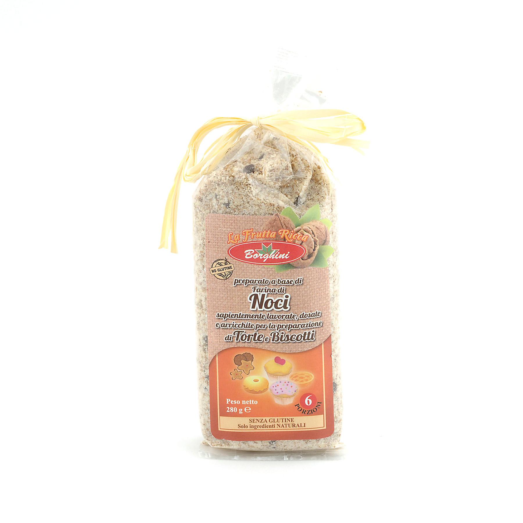 'Noci' Walnut Cake mix *Gluten free* from Borghini
