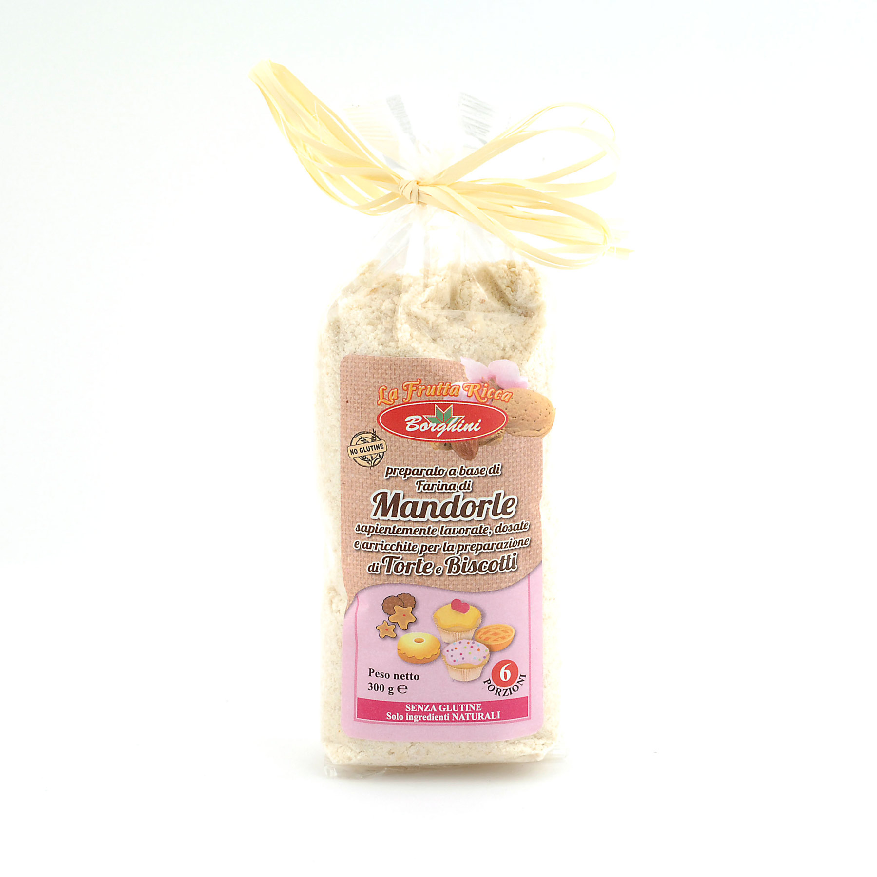 "Almond ""Mandorle"" Biscuit mix *Gluten Free* from Borghini"