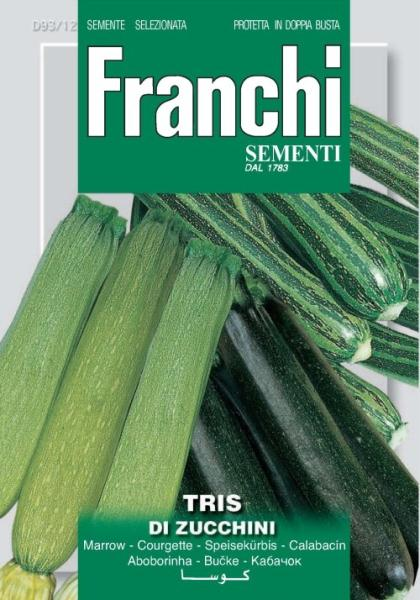 Tris Of Zucchini