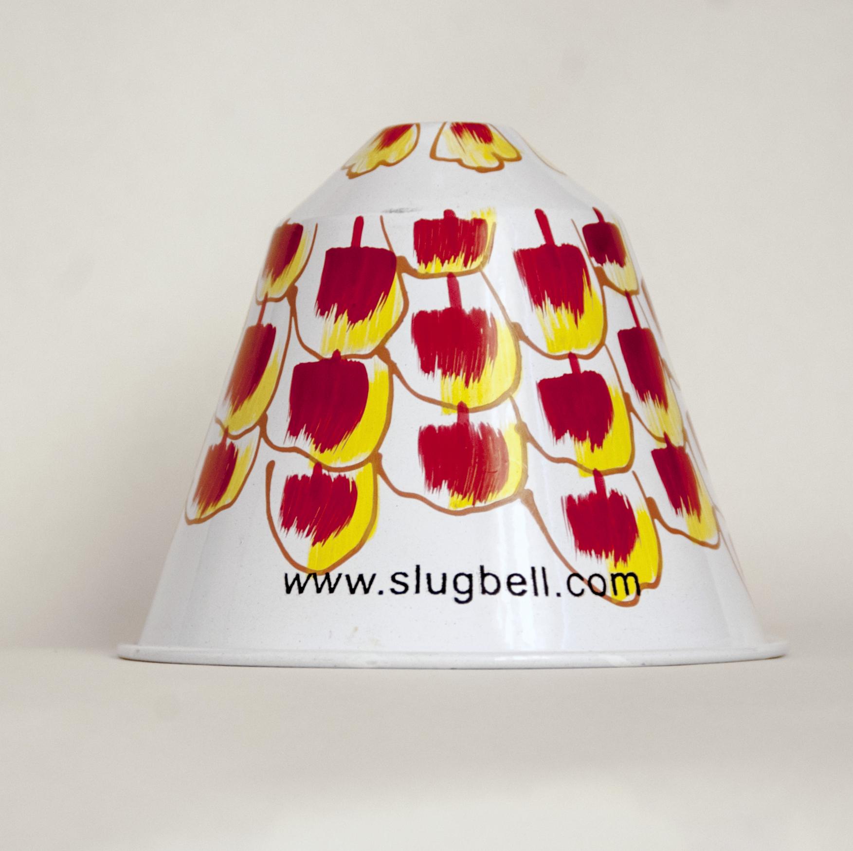 Marigold flowers slug bell
