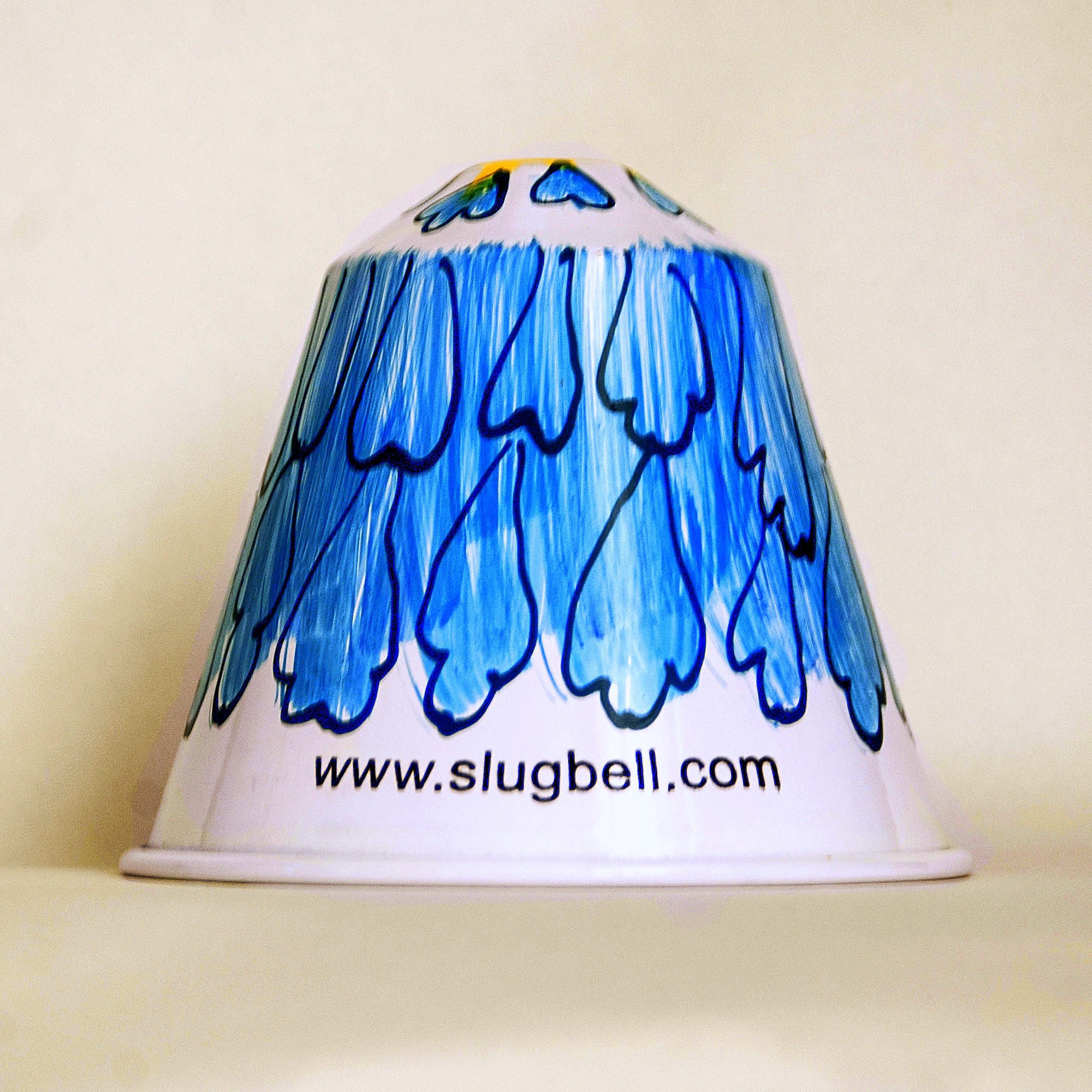 Blue Flowers slug bell
