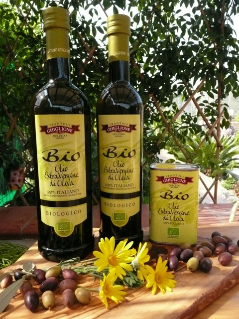 Ligurian Organic extra virgin olive oil by Ghiglione 75cl UK Only