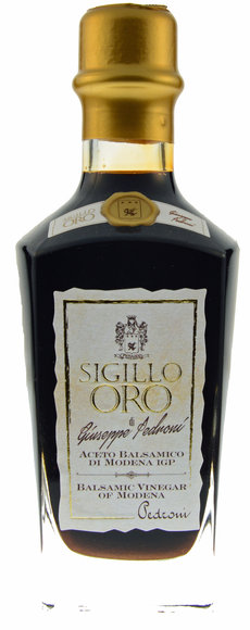 Aceto Pedroni 'Sigillo Oro' Gold PGI Balsamic Vinegar 250ml *UK only