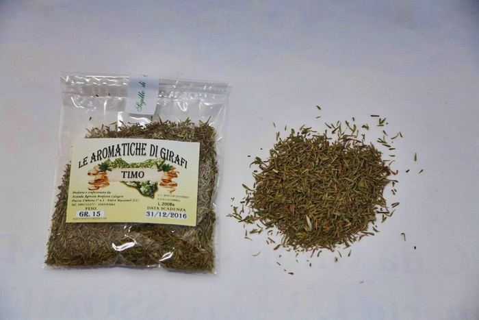 Sicilian dried thyme - UK Only