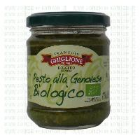 Ghiglione organic pesto genovese from Liguria 130g - UK only