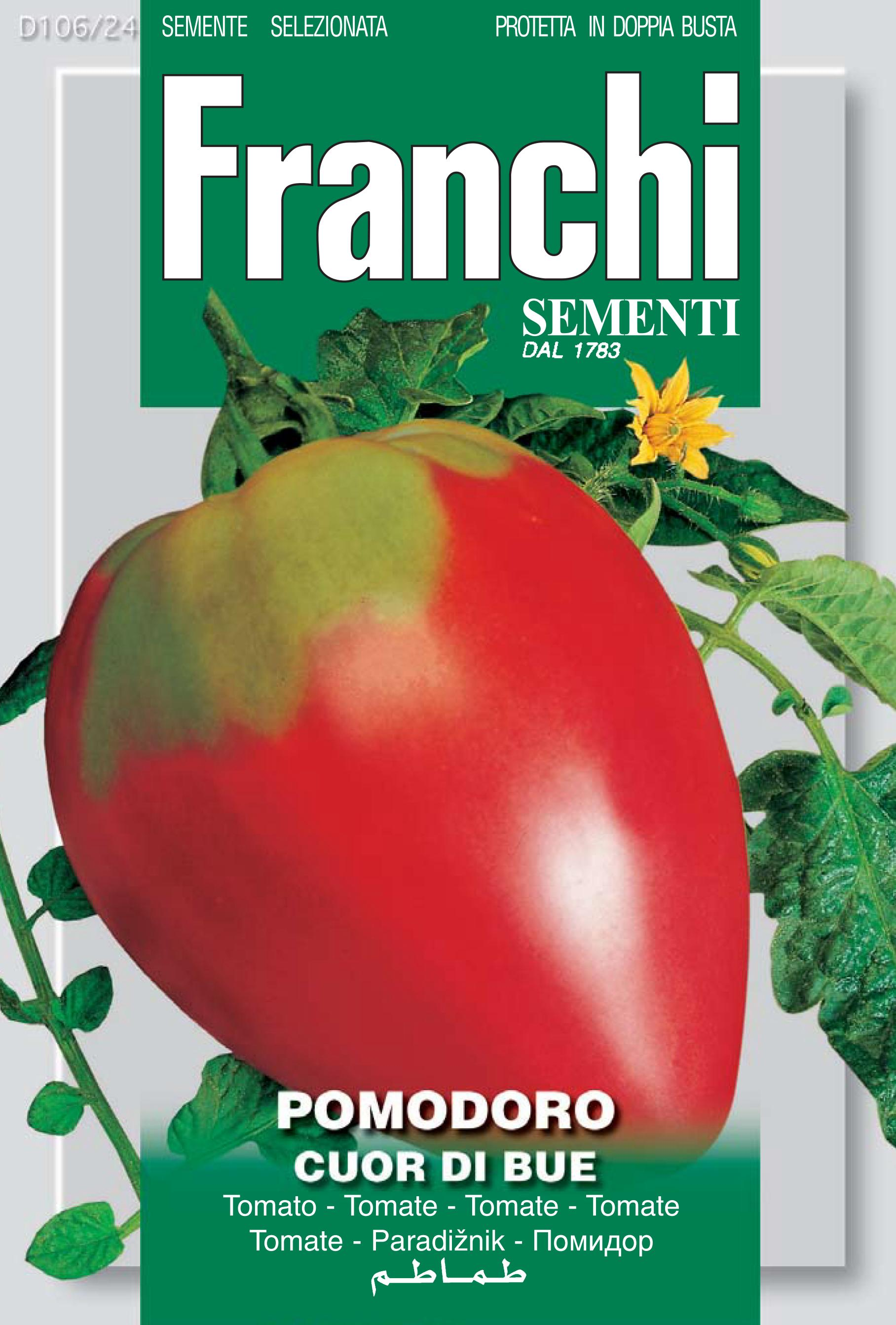 Tomato Cuor Di Bue / Coeur De Boeuf Of Liguria