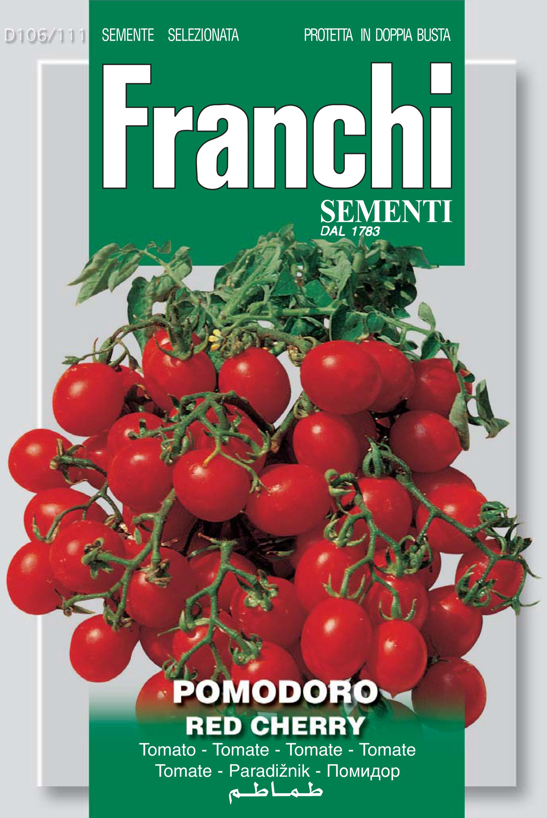 Tomato Red Cherry Also Ideal for Indoor Gardening Systems (A) Solanum Lycopersicum L.