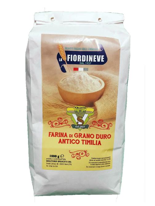 Ancient Semola Flour 'Farina Grano Duro 'Timilia' 1KG  *from  26th Oct