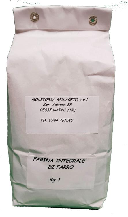 Spelt Ancient Flour from Umbria 1KG