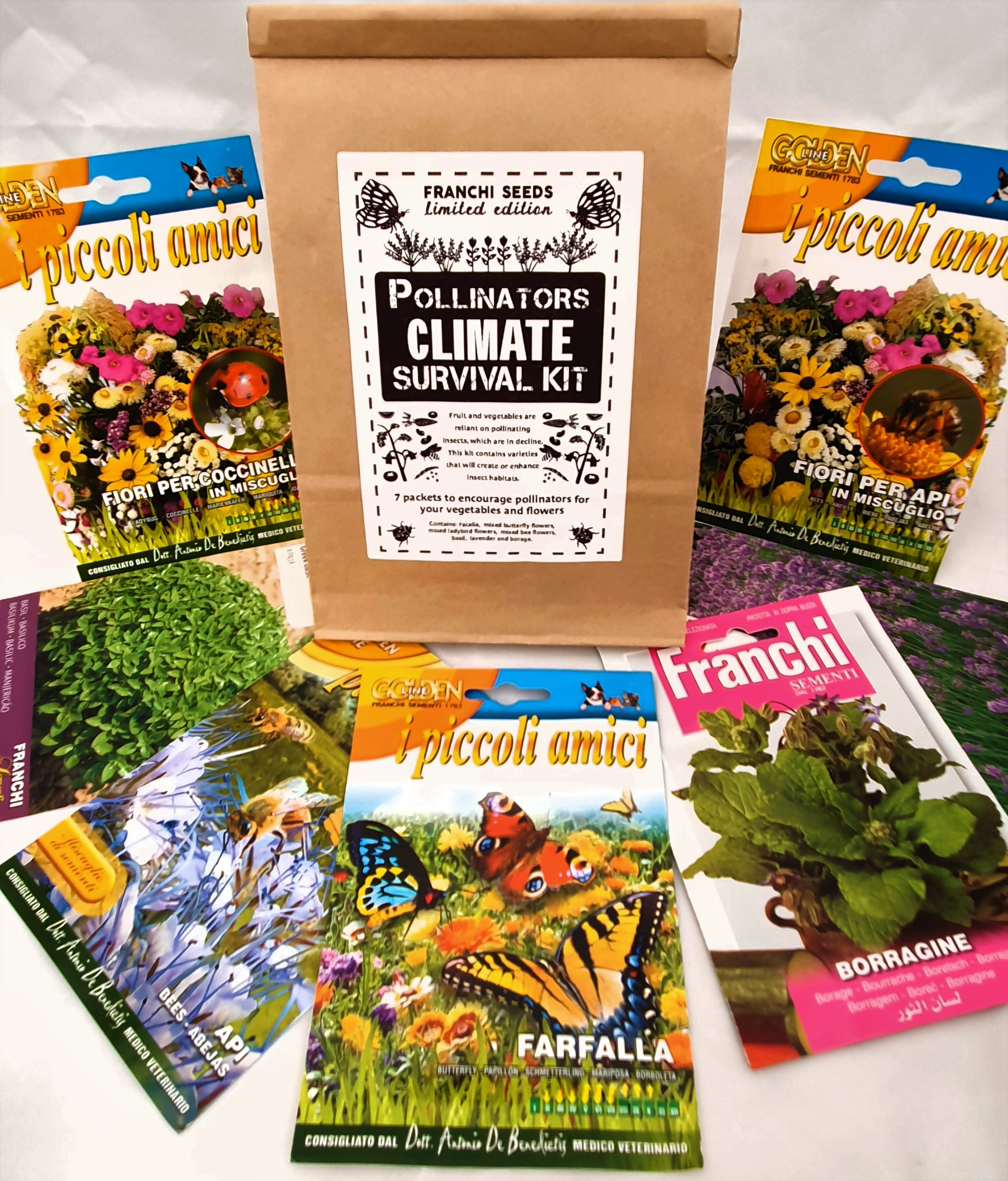 Climate Emergency Pollinators Survival Kit