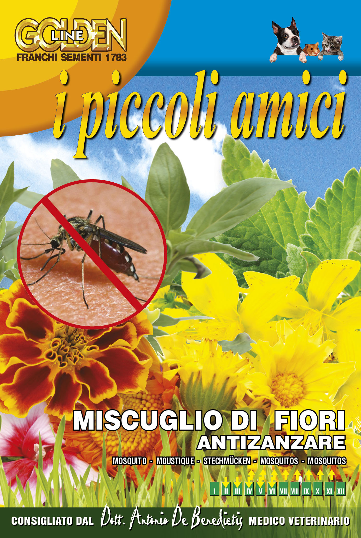 Anti Mosquito Flower mix