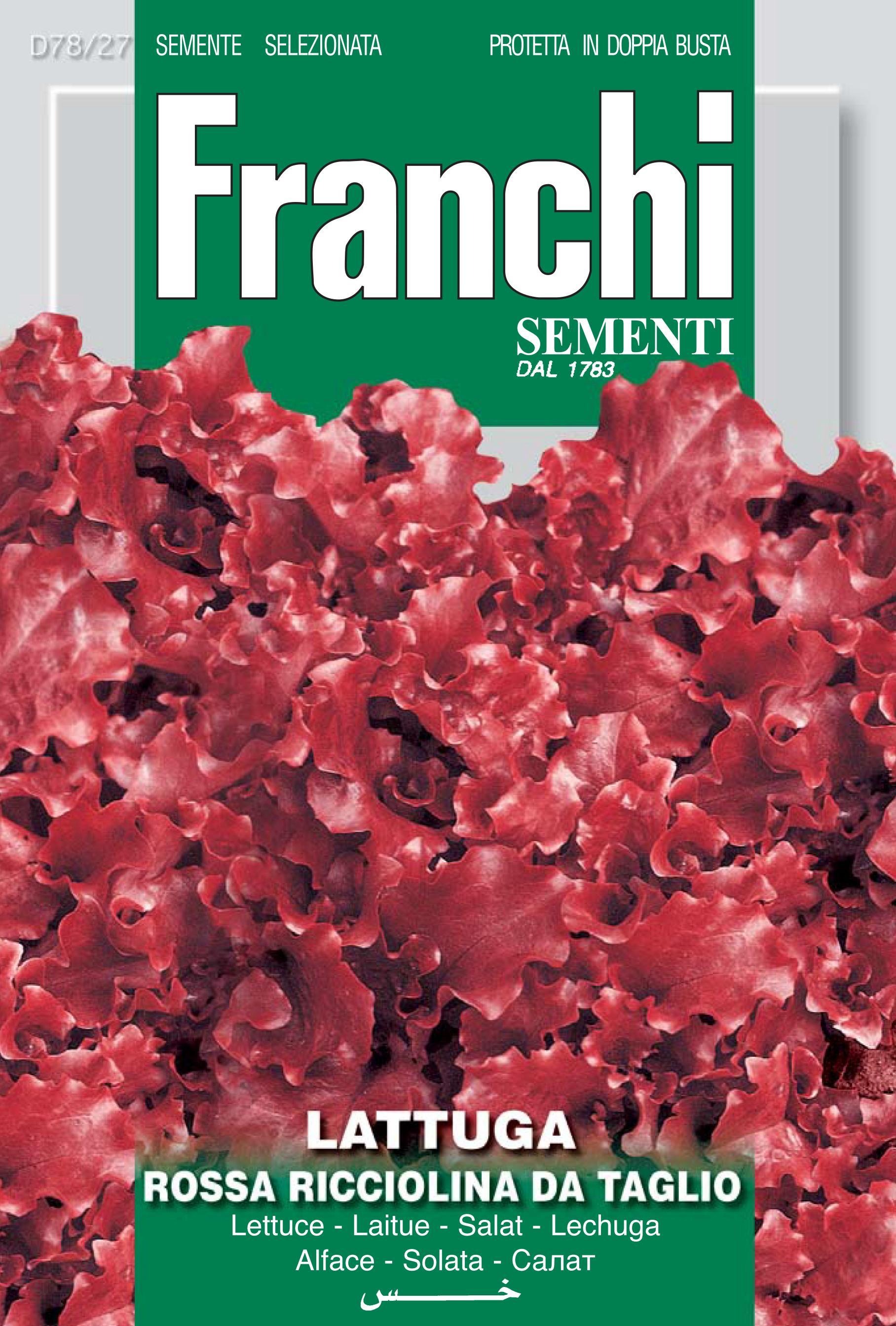 Lettuce Rossa Ricciolina