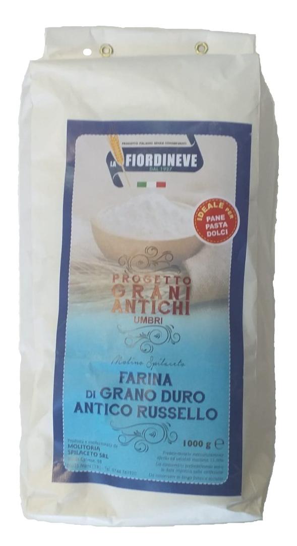 Ancient Flour 'Grano Duro' Russello 1 KG exp 30/10/2021 *Save £2.67*