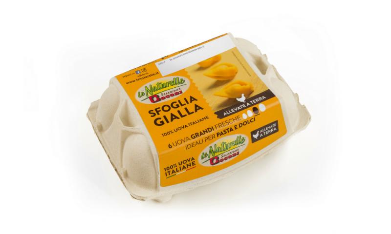 Italian Eggs from Ravenna 1/2 DOZEN