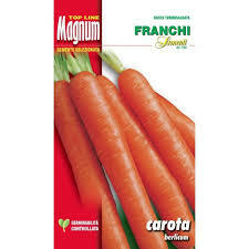 Carrot Berlicum Restaurant Growers Pack