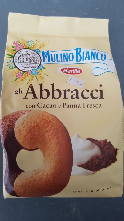 Abbracci biscuits by Mulino Bianco 350g **Saturday Store Item, collect only**
