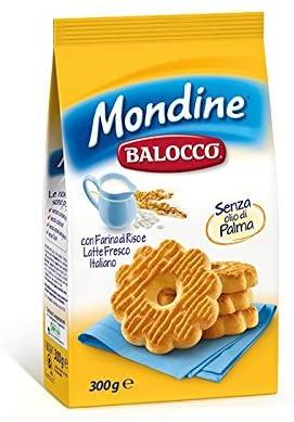 Balocco Mondine rice flower biscuits