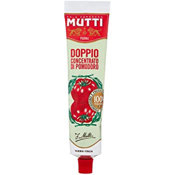 Mutti tomato sauce double concentrate