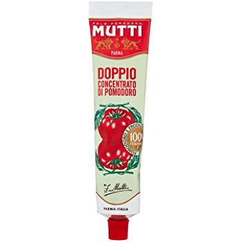 Mutti tomato sauce double concentrate