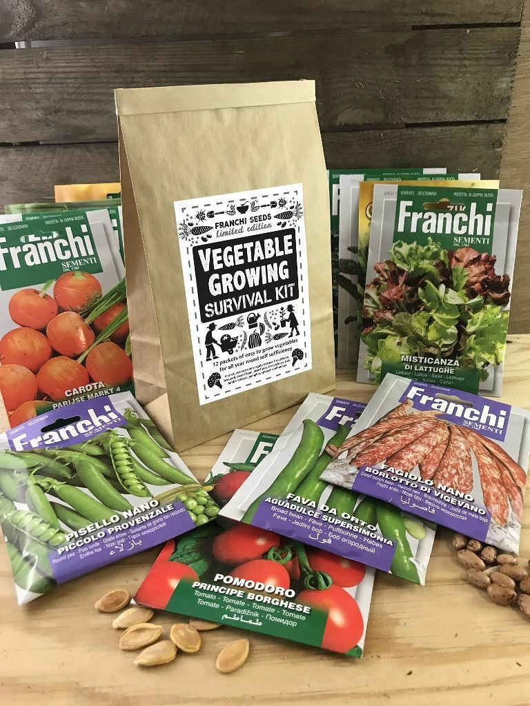 Vegetable Growing Survival Kit