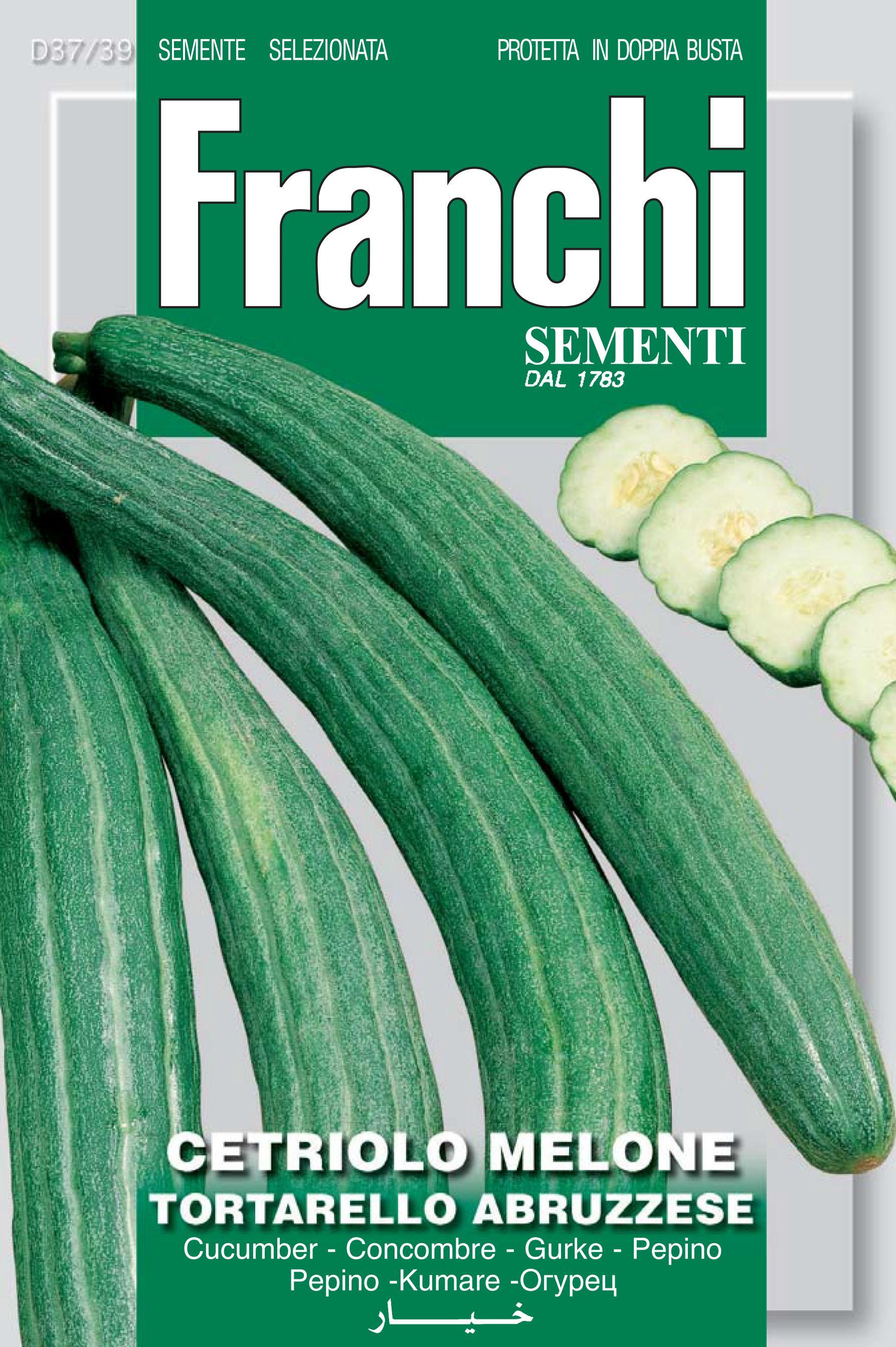 Cucumber melon Tortarello Abruzzo Save 46p