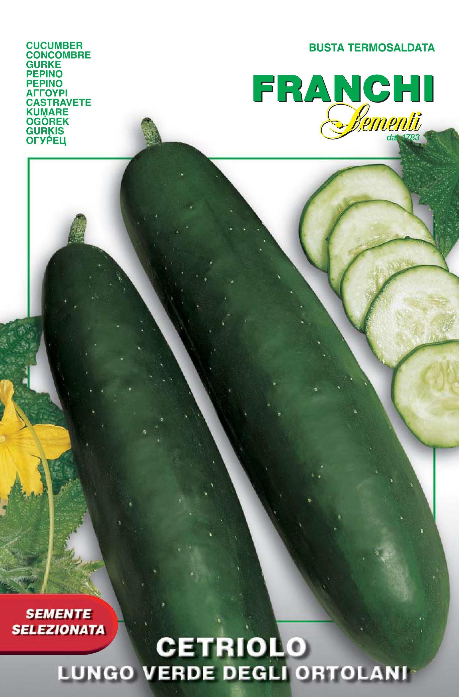 Cucumber Verde Degli Ortolani save 46p