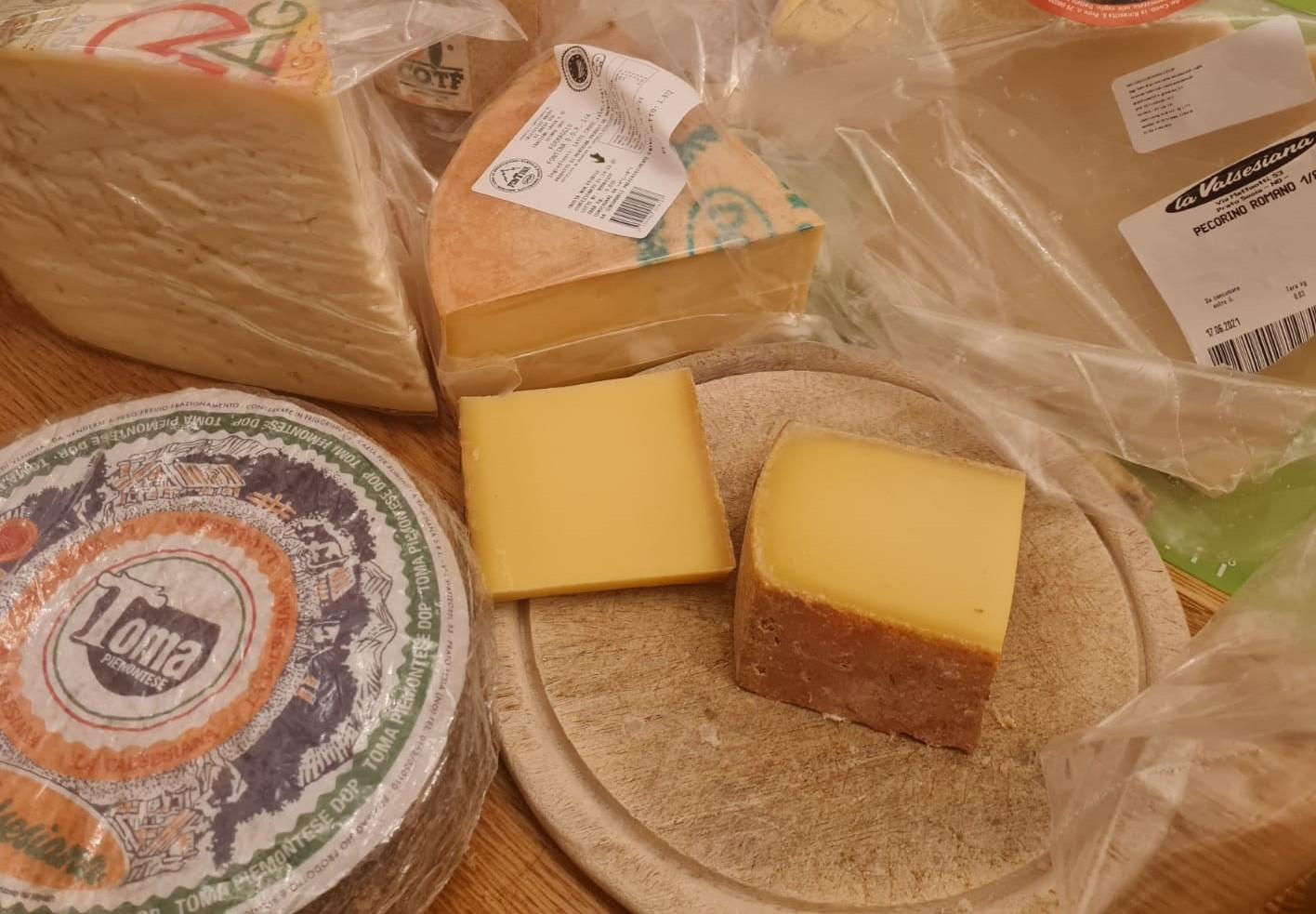 Asiago D.O.P. artisan cheese