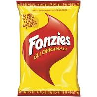 Fonzies cheese corn puffs, baked 100g
