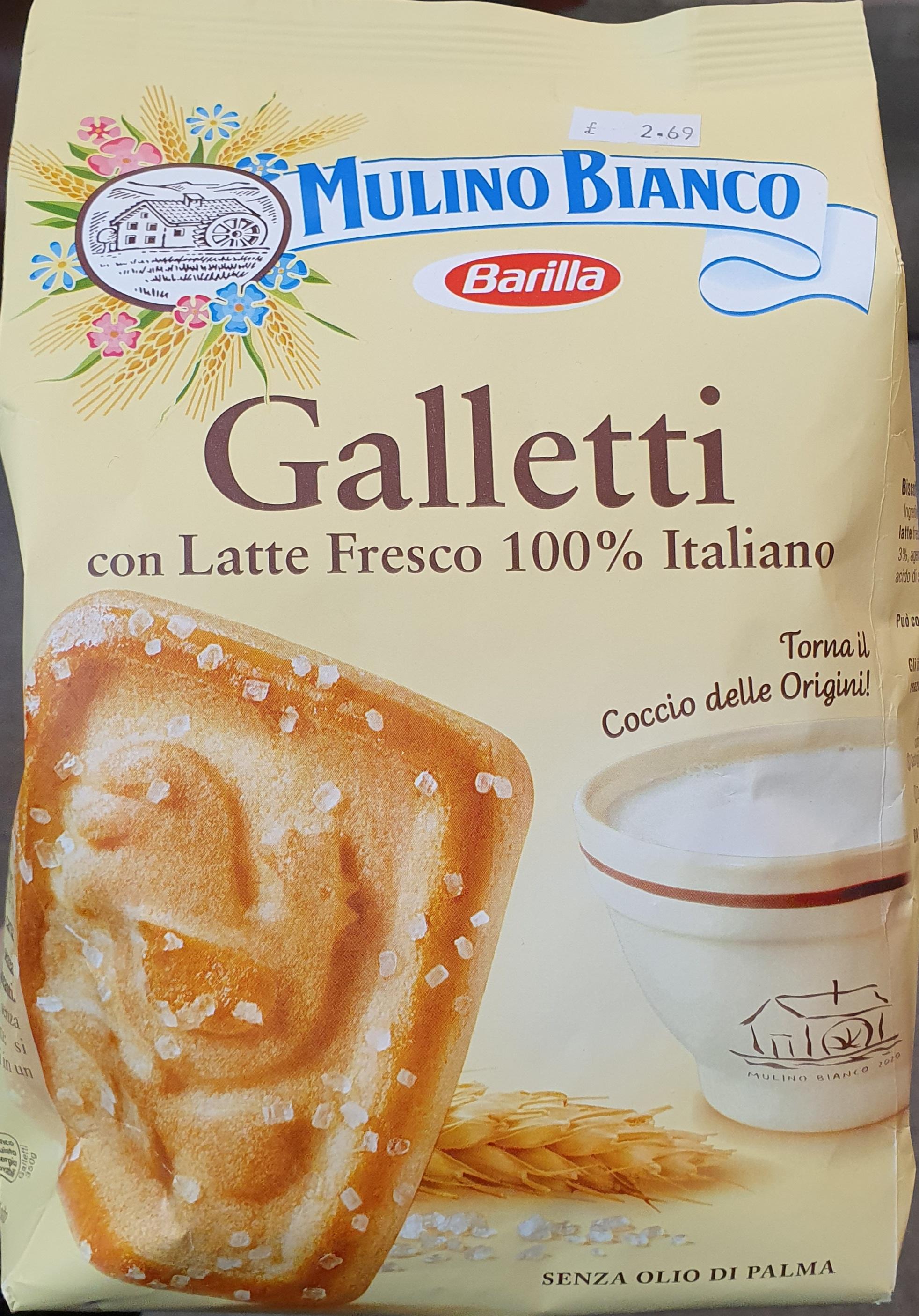 Galletti biscuits by Mulino Bianco 350g