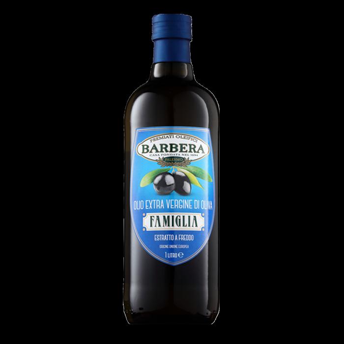 BARBERA FAMIGLIA OR ORO DEL CUOCO SICILIAN OIL 1L  - available in Saturday Store only