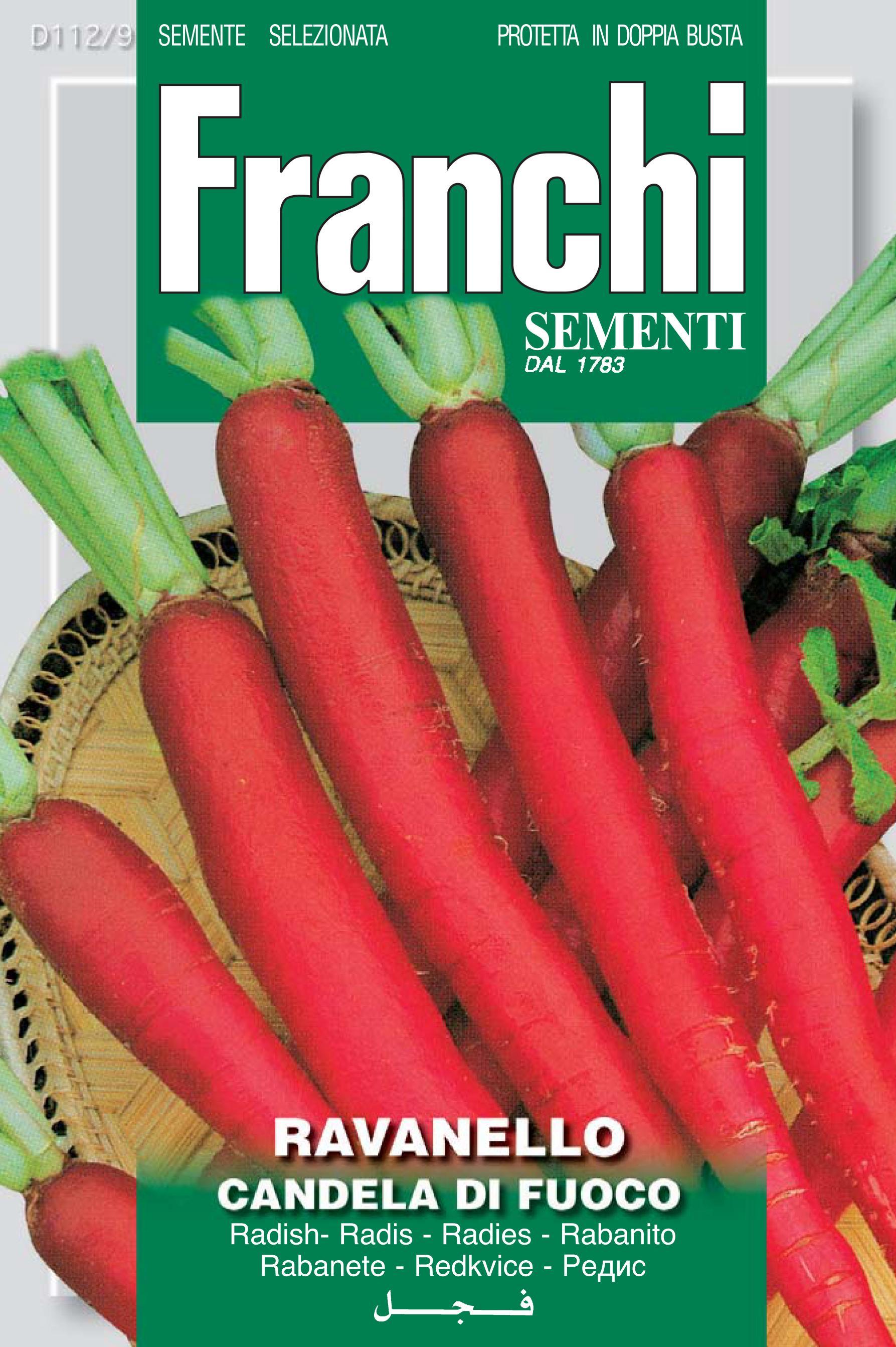 Radish Candela Di Fuoco save 46p Franchi Leben brand